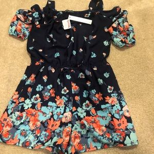 My Michelle Other - MyMichelle girls romper NWT